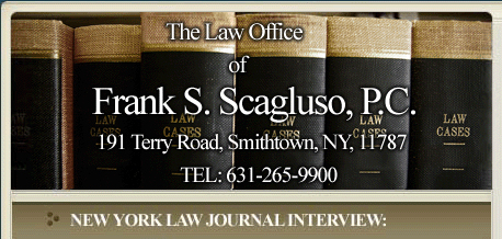 Frank S. Scagluso - Attorney and Counselor at Law